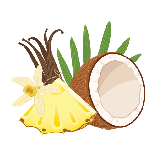 Coconut, Pineapple & Vanilla
